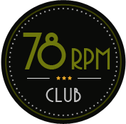 The 78 rpm Club Logo