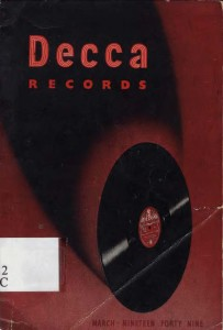 DECCA Records - General Catalogue 1949 (Brixton-GB)